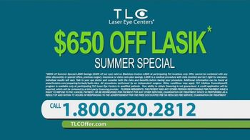 TLC Vision Summer Special TV Spot, 'Free Lasik Consultation' - Thumbnail 10