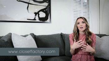 Closet Factory TV Spot, 'Merrick White's Closet'