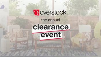 Overstock.com Clearance Event TV Spot, 'Patio Furniture and Area Rugs' - Thumbnail 2