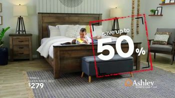 Ashley HomeStore Black Friday in July TV Spot, 'Zero Percent Interest on Outdoor Set & Sectional' Song by Midnight Riot - Thumbnail 4
