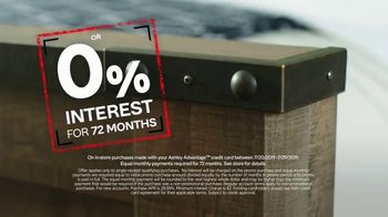 Ashley HomeStore Black Friday in July TV Spot, 'Zero Percent Interest on Outdoor Set & Sectional' Song by Midnight Riot - Thumbnail 6