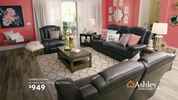 Ashley HomeStore Black Friday in July TV Spot, 'Zero Percent Interest on Outdoor Set & Sectional' Song by Midnight Riot - Thumbnail 8