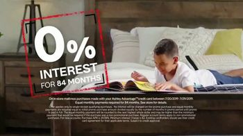 Ashley HomeStore Black Friday in July TV Spot, 'Zero Percent Interest on Mattresses' Song by Midnight Riot - Thumbnail 3