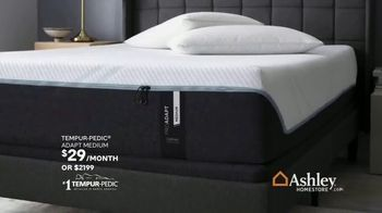 Ashley HomeStore Black Friday in July TV Spot, 'Zero Percent Interest on Mattresses' Song by Midnight Riot - Thumbnail 4