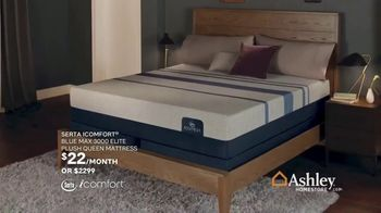 Ashley HomeStore Black Friday in July TV Spot, 'Zero Percent Interest on Mattresses' Song by Midnight Riot - Thumbnail 5