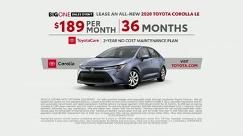 Toyota Big One Sales Event TV Spot, 'Easy: Leg Day' [T2] - Thumbnail 6