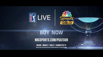 NBC Sports Gold TV Spot, 'PGA Tour Pass: FedEx Cup Playoffs' - Thumbnail 9
