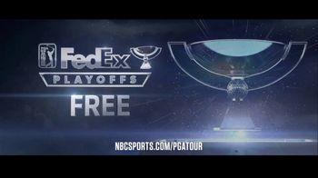 NBC Sports Gold TV Spot, 'PGA Tour Pass: FedEx Cup Playoffs' - Thumbnail 4