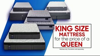 Rooms to Go Storewide Mattress Sale TV Spot, 'Sleep Like a King' - Thumbnail 3