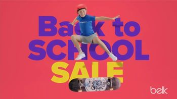 Belk Back to School Sale TV Spot, 'Styles That Are Fire'