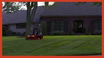 Kubota Z100 Zero-Turn Mower TV Spot, 'A Lawn Worth Admiring' - Thumbnail 1
