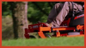 Kubota Z100 Zero-Turn Mower TV Spot, 'A Lawn Worth Admiring' - Thumbnail 2
