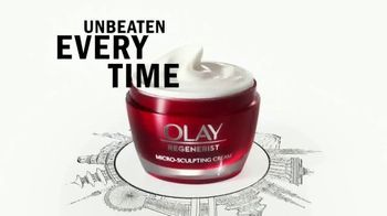 Olay Regenerist Micro-Sculpting Cream TV Spot, 'Unbeaten Around the World' - Thumbnail 9