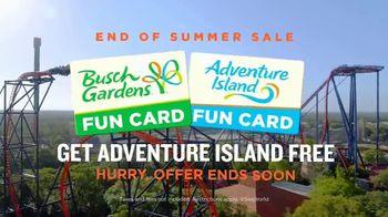 Busch Gardens End of Summer Sale TV Spot, 'Tigris and Adventure Island' - Thumbnail 7