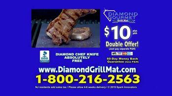Diamond Gourmet Grill Mat TV Spot, 'Some Foods Get Stuck' - Thumbnail 10