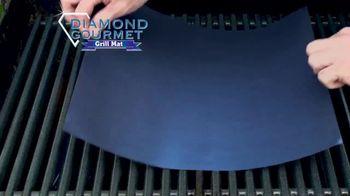 Diamond Gourmet Grill Mat TV Spot, 'Some Foods Get Stuck' - Thumbnail 2