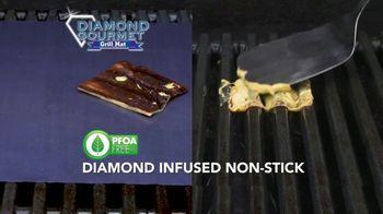Diamond Gourmet Grill Mat TV Spot, 'Some Foods Get Stuck' - Thumbnail 6