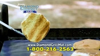 Diamond Gourmet Grill Mat TV Spot, 'Some Foods Get Stuck' - Thumbnail 7