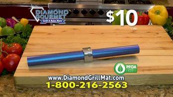 Diamond Gourmet Grill Mat TV Spot, 'Some Foods Get Stuck' - Thumbnail 8