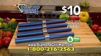 Diamond Gourmet Grill Mat TV Spot, 'Some Foods Get Stuck' - Thumbnail 9