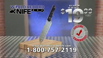 World Record Knife TV Spot, 'Right Before Your Eyes' - Thumbnail 8