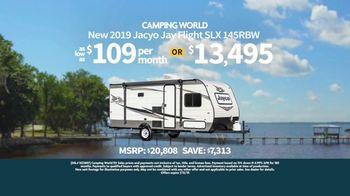 Camping World Pioneer Day Sales Event TV Spot, 'Jayco Jay Flight SLX'