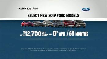 AutoNation TV Spot, 'Save Now: 2019 Ford Models' - Thumbnail 4