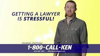 Kenneth S. Nugent: Attorneys at Law TV Spot, 'Getting a Lawyer is Stressful' - Thumbnail 2