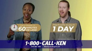 Kenneth S. Nugent: Attorneys at Law TV Spot, 'Getting a Lawyer is Stressful' - Thumbnail 9