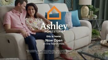 Ashley HomeStore Black Friday in July TV Spot, 'Sofa Chaise, Queen Bed and Power Reclining Sofa' - Thumbnail 8