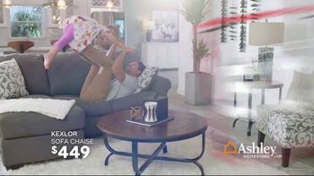 Ashley HomeStore Black Friday in July TV Spot, 'Sofa Chaise, Queen Bed and Power Reclining Sofa' - Thumbnail 4