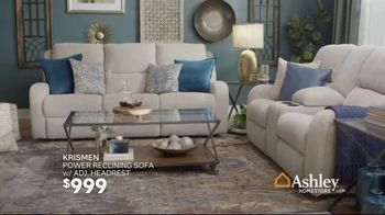 Ashley HomeStore Black Friday in July TV Spot, 'Sofa Chaise, Queen Bed and Power Reclining Sofa' - Thumbnail 7