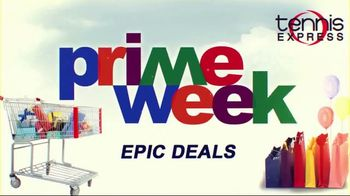 Tennis Express Prime Week TV Spot, 'Favorite Gear' - Thumbnail 1