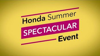 Honda Summer Spectacular Event TV Spot, 'Less Than the Competition' [T2] - Thumbnail 2