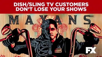 The Walt Disney Company TV Spot, 'FX: Dish and Sling Customers'