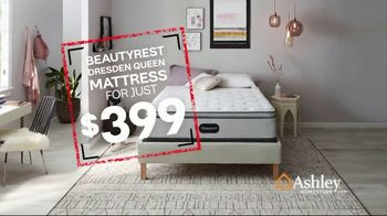 Ashley HomeStore Black Friday in July TV Spot, 'Beautyrest Dresden Queen' Song by Midnight Riot - Thumbnail 5