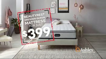 Ashley HomeStore Black Friday in July TV Spot, 'Beautyrest Dresden Queen' Song by Midnight Riot - Thumbnail 6