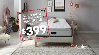 Ashley HomeStore Black Friday in July TV Spot, 'Beautyrest Dresden Queen' Song by Midnight Riot - Thumbnail 7