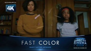 DIRECTV Cinema TV Spot, 'Fast Color' - Thumbnail 1