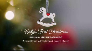 Hallmark Keepsake Ornaments TV Spot, 'Hallmark Channel: Baby's First Christmas' - Thumbnail 3