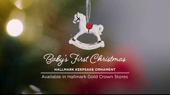Hallmark Keepsake Ornaments TV Spot, 'Hallmark Channel: Baby's First Christmas' - Thumbnail 4