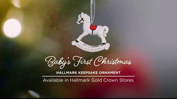 Hallmark Keepsake Ornaments TV Spot, 'Hallmark Channel: Baby's First Christmas' - Thumbnail 5