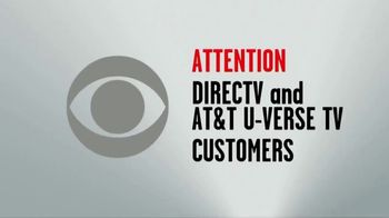 CBS TV Spot, 'Keep CBS: DIRECTV and AT&T U-Verse' - Thumbnail 1