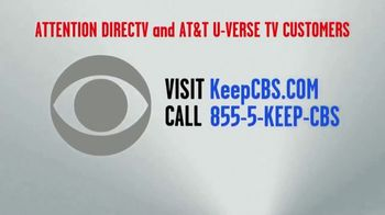 CBS TV Spot, 'Keep CBS: DIRECTV and AT&T U-Verse' - Thumbnail 8