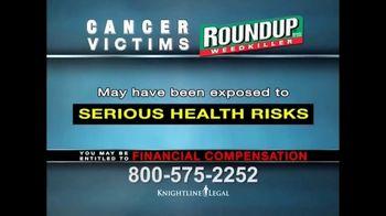 Knightline Legal TV Spot, 'Roundup Weed Killer' - Thumbnail 5