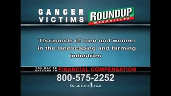 Knightline Legal TV Spot, 'Roundup Weed Killer' - Thumbnail 4