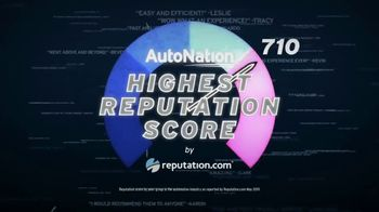 AutoNation TV Spot, 'Reputation Score: 2018 and 2019 Ford Models' - 1 commercial airings