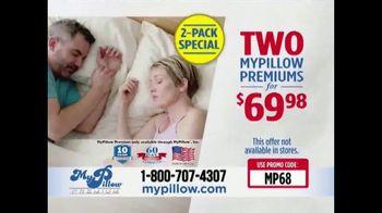 My Pillow Premium TV Spot, 'Problems Sleeping: 2-Pack Special' - Thumbnail 10