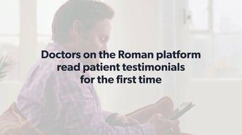 Roman TV Spot, 'Doctors on the Roman Platform' - Thumbnail 1