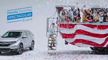 Honda Summer Spectacular Event TV Spot, 'Parade' [T2] - Thumbnail 8